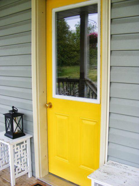 How To Paint An Exterior Door Homemaking Doors And Teal Front Doors