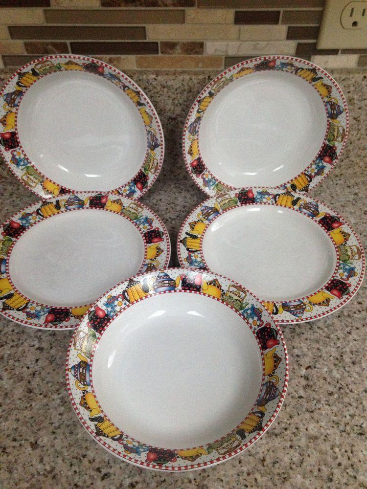 Mary Engelbreit Afternoon Tea Plates Bowls Tabak