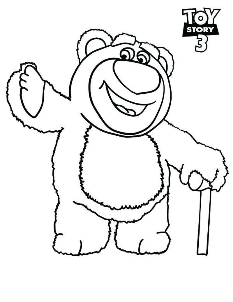 Toy Story 26 Bear Drawing - PeepsBurgh