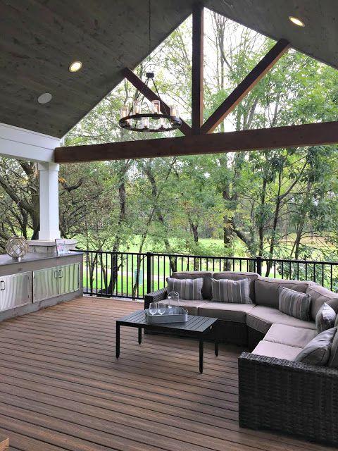 My Two Favorite Home Tours Ever Patio Pergola Building A Deck