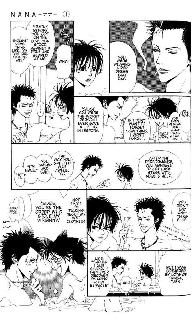 Nana quote Manga by Ai Yazawa Cosplay anime, Nana quotes