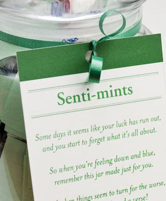 Senti-mints Sayings - Printable PDF