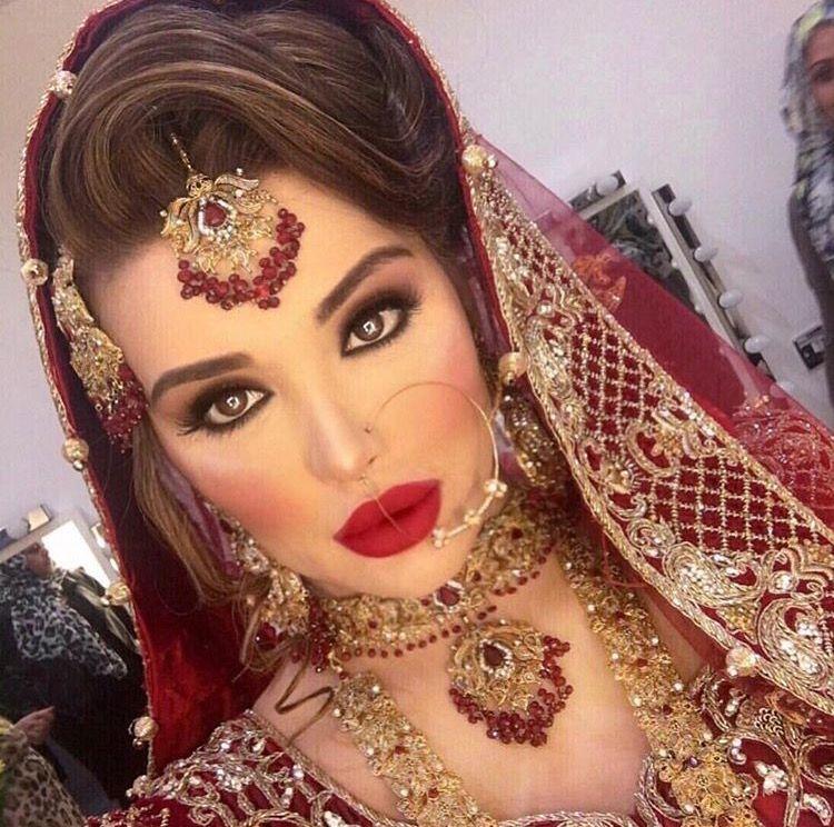 Asian Hair Style Wedding: Indian Wedding Makeup