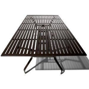 Strathwood Falkner 72Inch Dining Table with Umbrella Hole