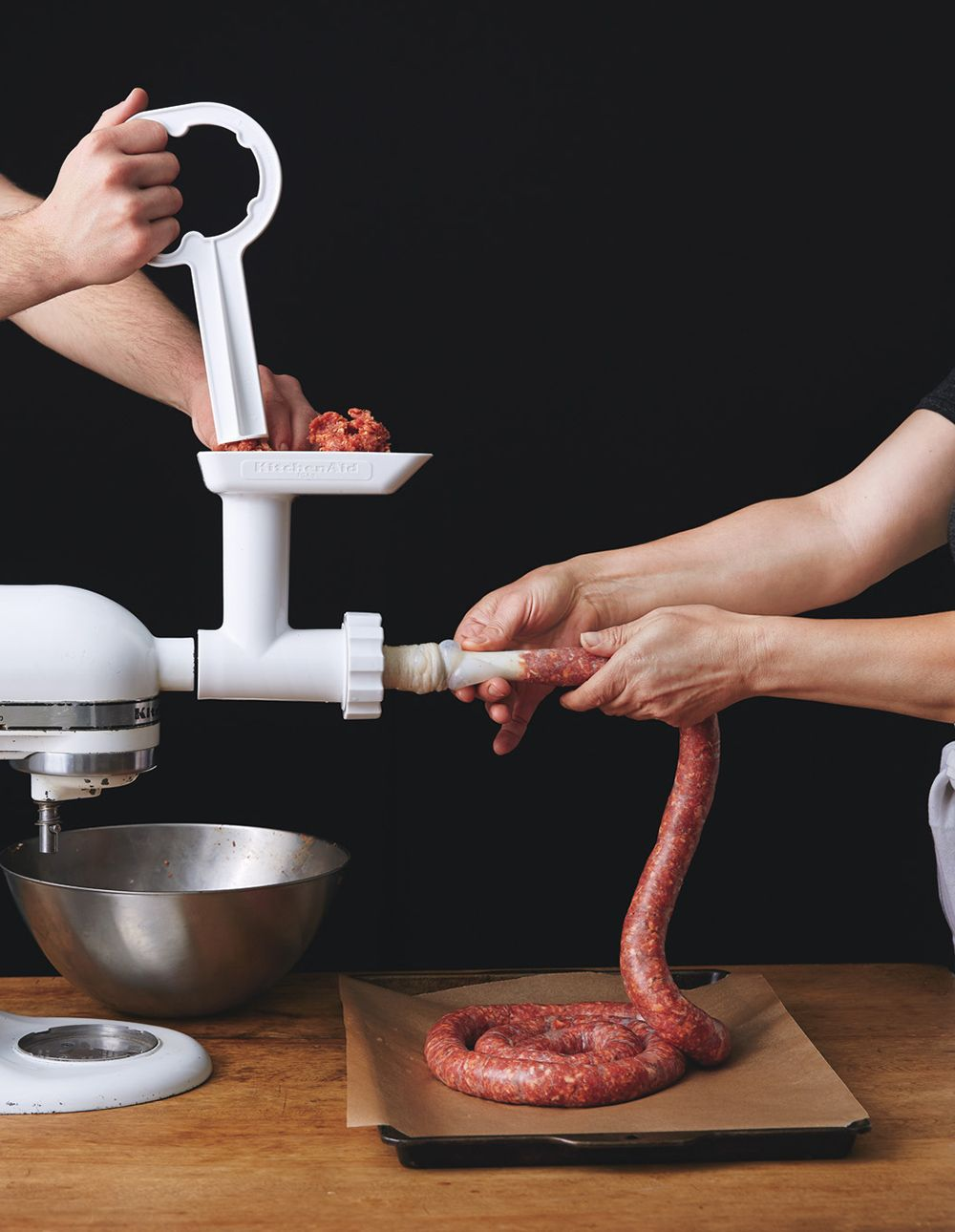 Kitchen Aid Meat Grinder For Venison