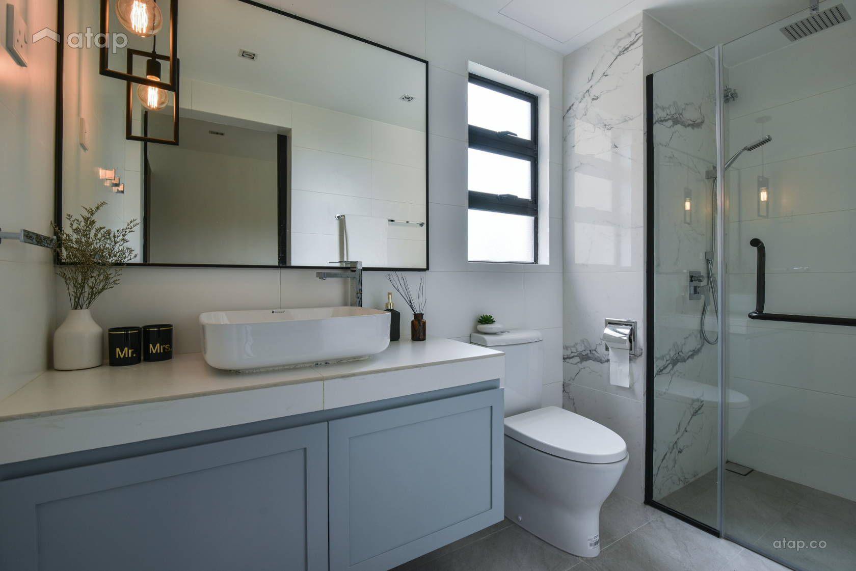 Minimalistic Scandinavian Bathroom Condominium Design Ideas Photos Malaysia Atap Co Bathroom Interior Bathroom Interior Design Condo Bathroom
