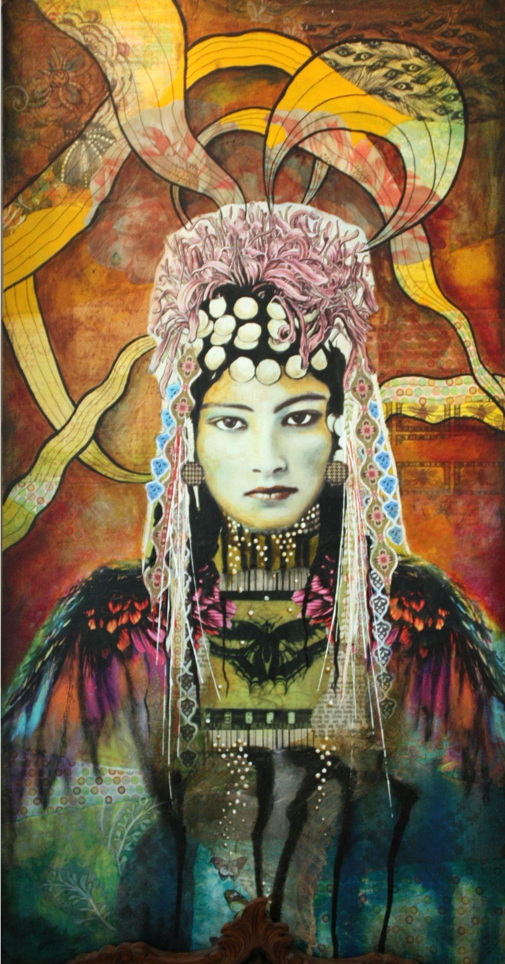 The Siren Andrea Matus Demeng Obrazy Sztuka Rysunki