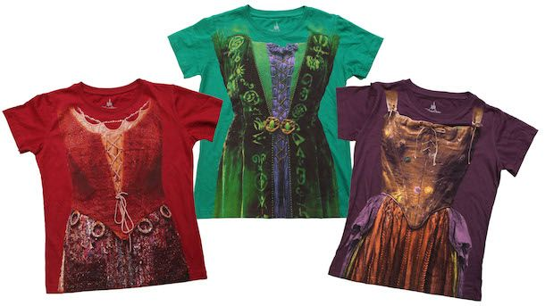 Limited Release Hocus Pocus Themed Clothing Coming Soon