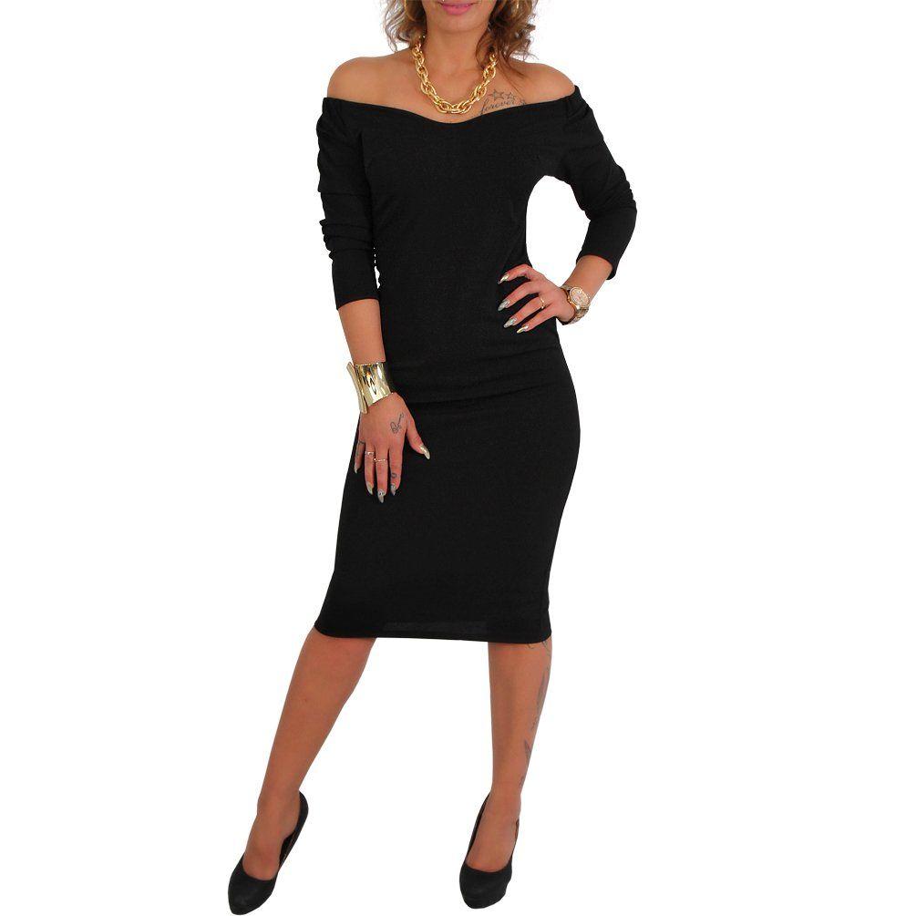 Bandeau Abendkleid Kleid Silvester Cocktailkleid Partykleid ...