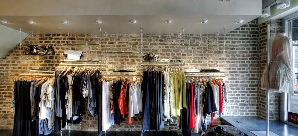 Clothing boutique interior design commercial berlin s for Boutique interior design
