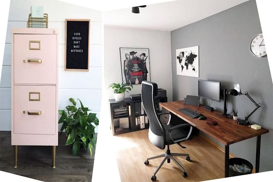 Office Design Cheap Office Decor Ideas Small Business Office