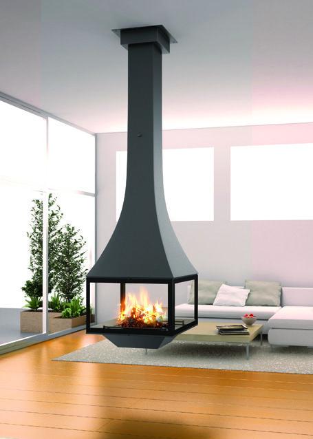 Design Fireplaces Jc Bordelet Julietta 985 Cheminee Moderne