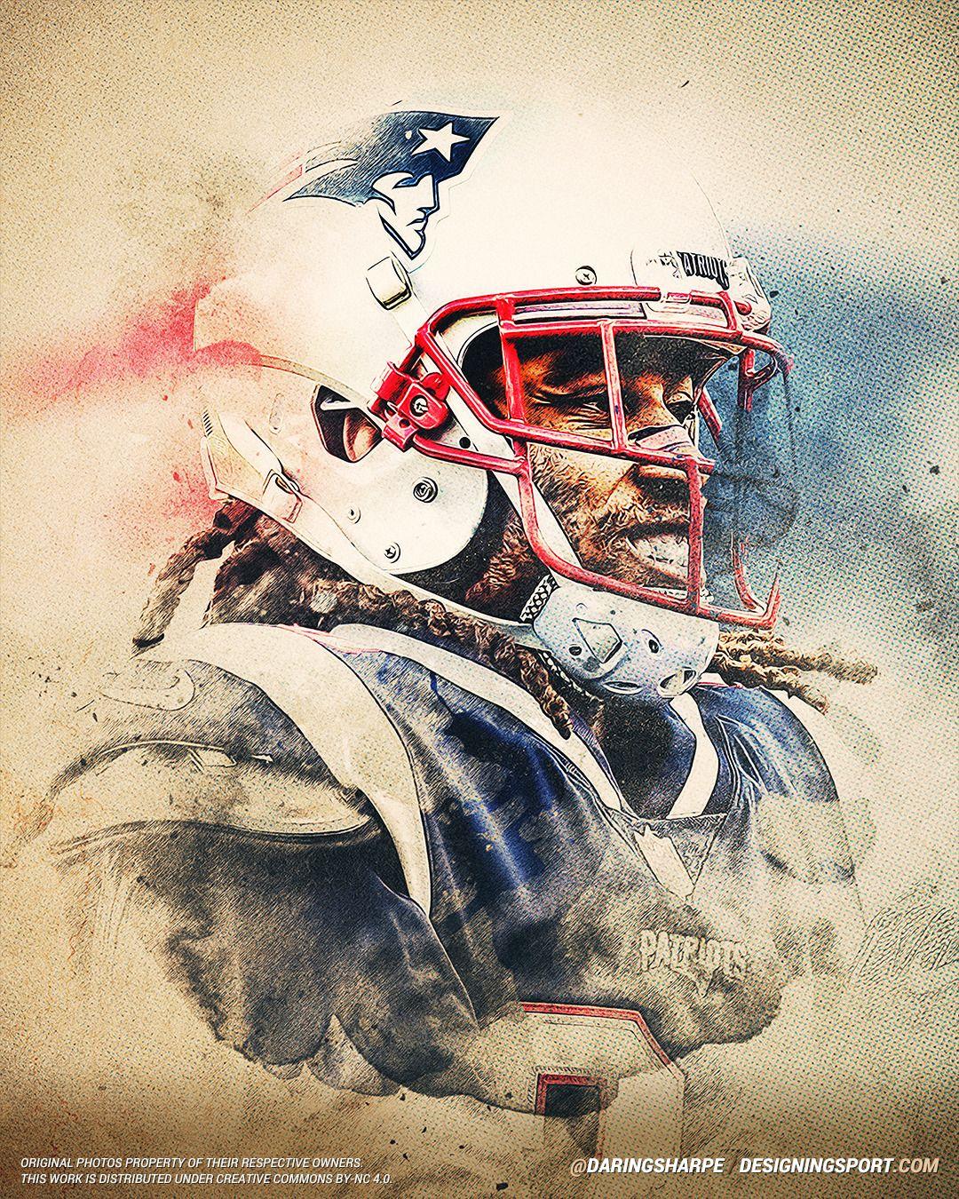 Stephon Gilmore New England Patriots Designing Sport Patriots New England Patriots Sports Art