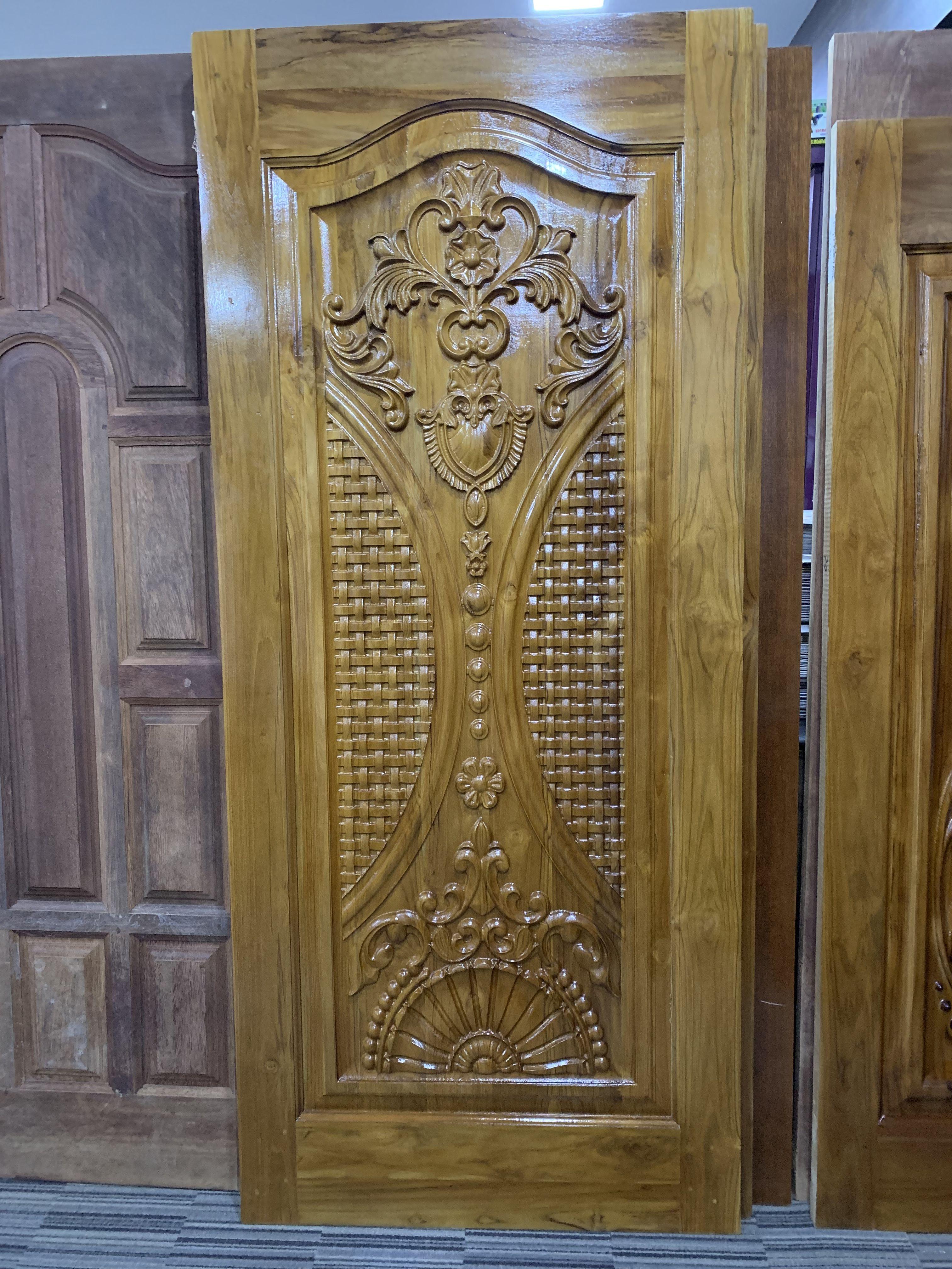 Bavas Wood Works Pooja Room Door Frame And Door Designs: Pin By Mahesh On Door Design