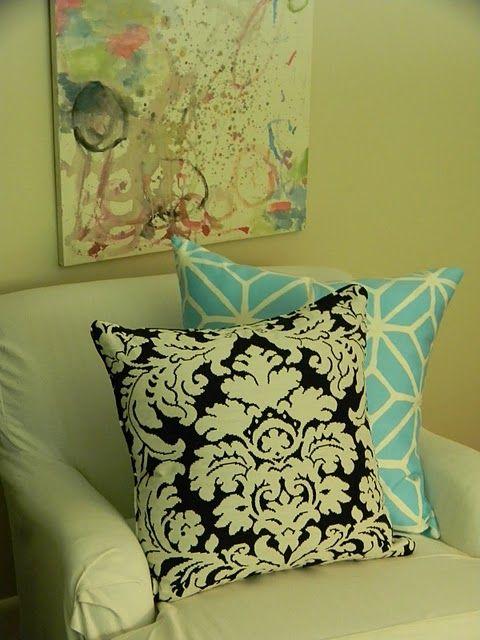Love both pillow.