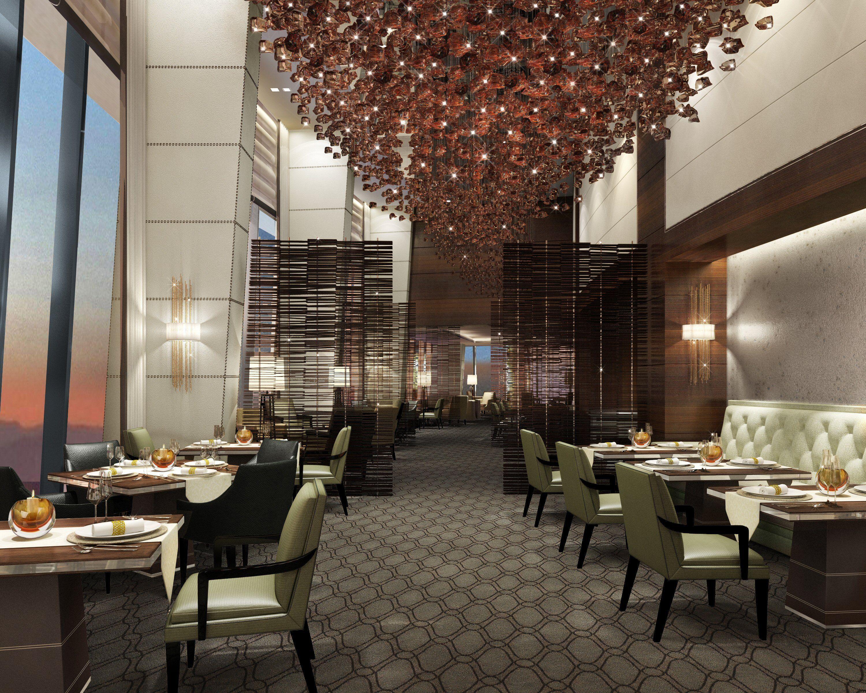 Rendering of fairmont baku designed by hba hirsch bedner - Top interior design firms chicago ...