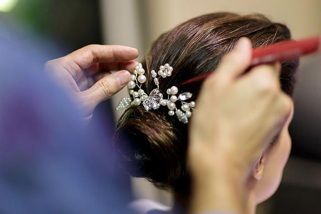 Tulle - Acessórios para noivas e festa. Arranjos, Casquetes, Tiara | ♥ Ana Bumachar