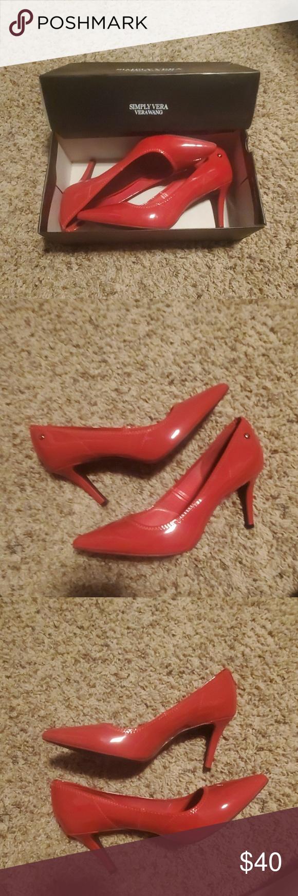 Red Heeled Simply Vera VeraWang