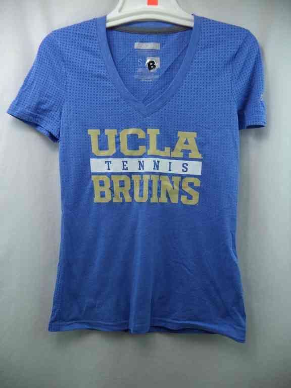 UCLA Bruins Adidas NCAA Tennis Blue Aeroknit Climacool Womens T-Shirt M #UCLABruins