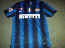 best loved eb219 7869e 2010 2011 Inter Milan Football Shirt Adults Medium Top ...