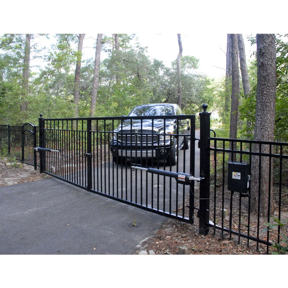 Mighty mule fm diy automatic gate opener a man s home