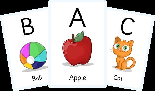 Alphabet Flashcards Arabic Pdf Pinterest Color Flashcards