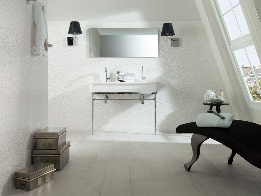 Amsterdam blanco floor tiles parker porcelain wood look tiles for maria pinterest - Parker porcelanosa ...
