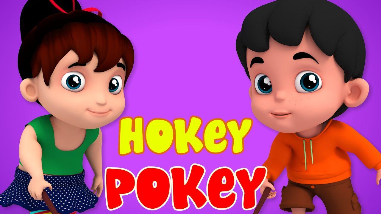 Hokey Pokey 3d Nursery Rhymes Baby Rhymes Kids Songs
