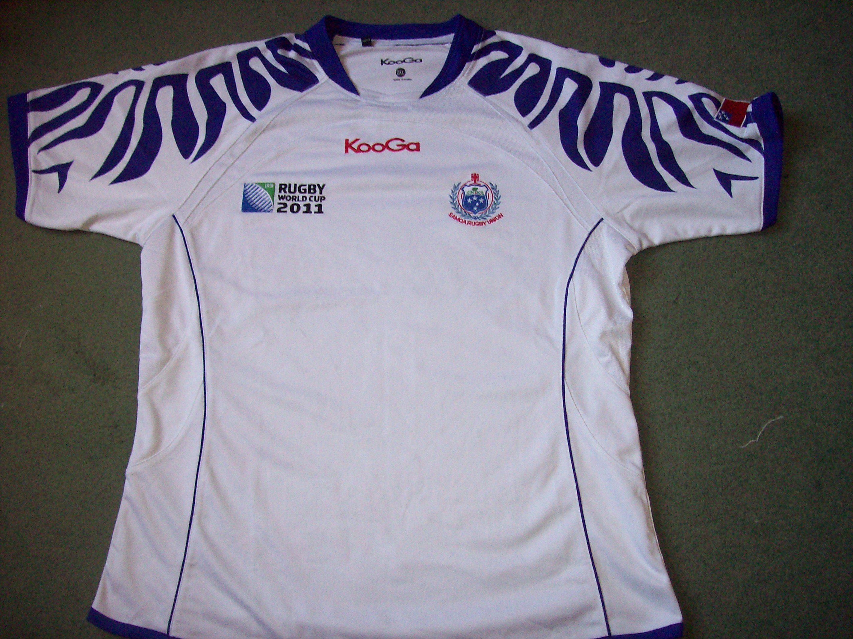 Samoa 2011 Rugby World Cup Shirt Size 2xl Price 4999 Ad Classic Fashion Big T Argentina Added To Classicrugbyshirtscom
