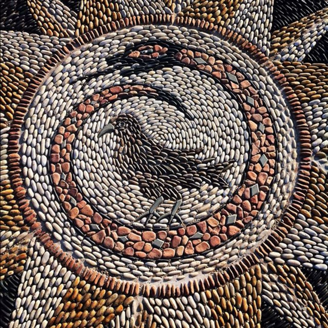 beautify your landscape with awesome pebble mosaic ideas on extraordinary garden path and walkway design ideas and remodel two main keys id=94582