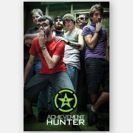 2e4bafc6 Achievement Hunter Boy Band Poster (24