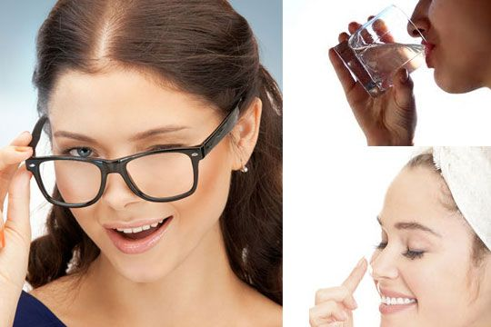 Get Marks Of Face To Your Glasses How Rid On