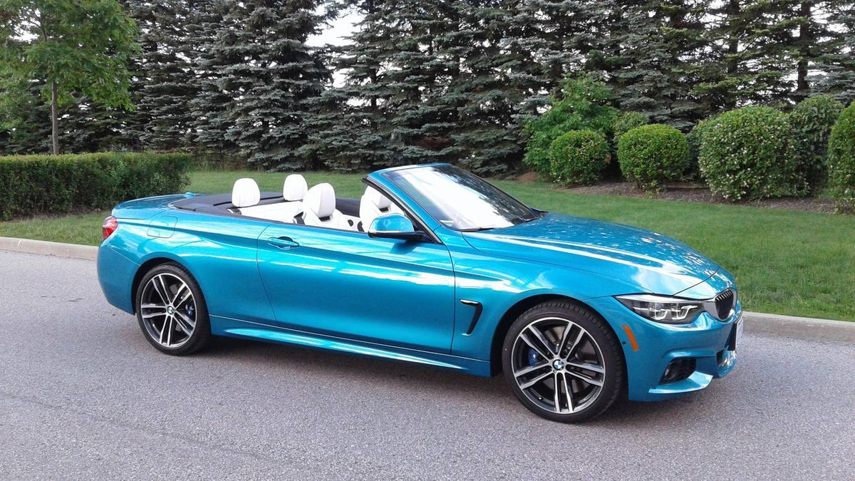 Review 2018 Bmw 440i Xdrive Convertible Is A Nimble Road Trip Companion With Images Bmw Bmw Convertible Road Trip Car