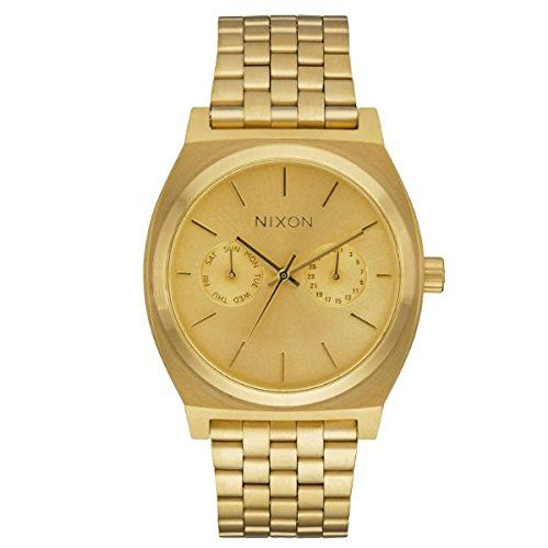 Men's Wrist Watches - Nixon Mens One Size All Gold *** Check out the image by visiting the link.