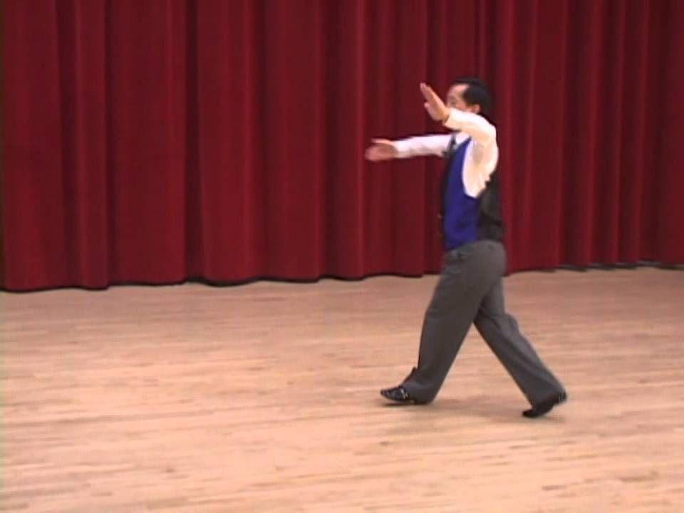Gold Slow Foxtrot Continuous Reverse Wave Ballroom Dance Lesson Ballroom Dance Lessons Quickstep Dance Lessons