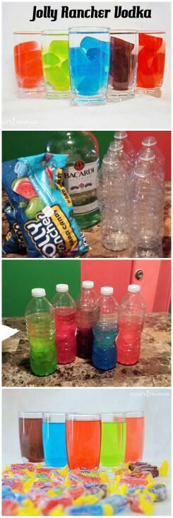 Jolly Rancher Mix Drinks Easy, Fun and Tasty... #DaniellesKitchen #tipysbartener