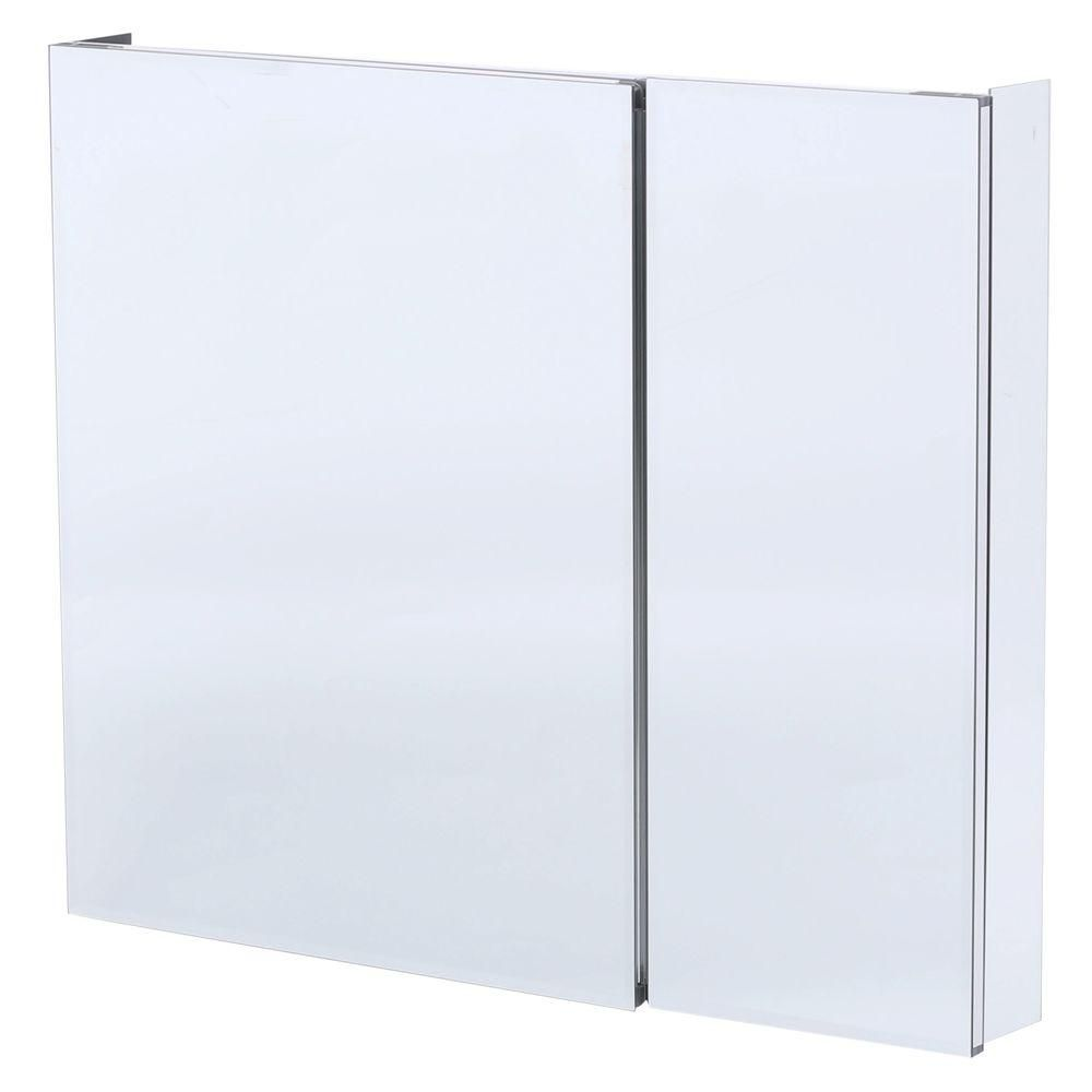 Frameless Kitchen Cabinets Home Depot: Pegasus 36 In. W X 30 In. H Frameless Recessed Or Surface