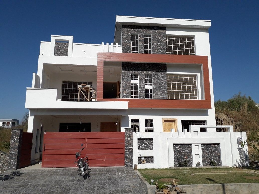 Pin By Atif Bashir On Front Elevation In 2020 House Styles