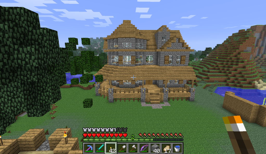 Minecraft Survival House Minecraft Survival Minecraft Houses