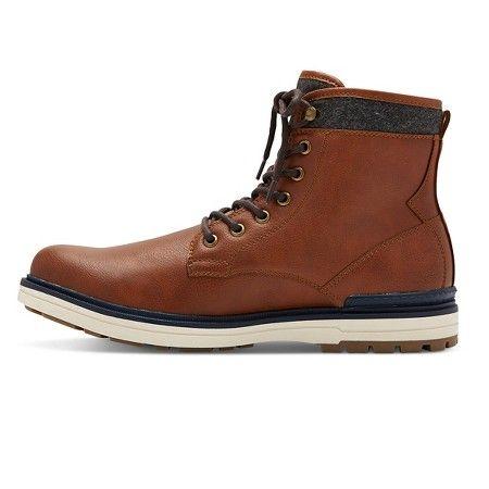 Men's A+ Archibald Fashion Boots - Brown 7 : Target