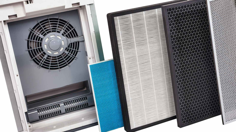 Honeywell F200 Air Cleaner Indoor air quality, Locker