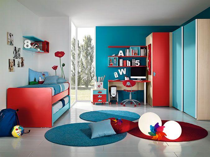 Camerette Maschietti ~ Camerette arcadia scrivania per bambini in giada e bucaneve