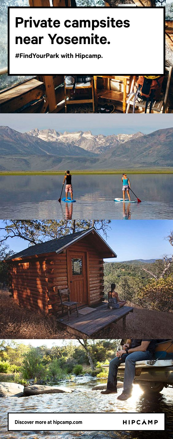 Discover private campsites across the country with Hipcamp.