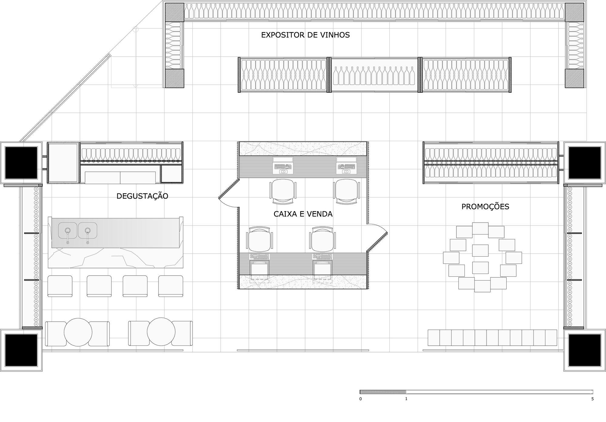 Enoteca World Wine Fasano / a:m studio de arquitetura