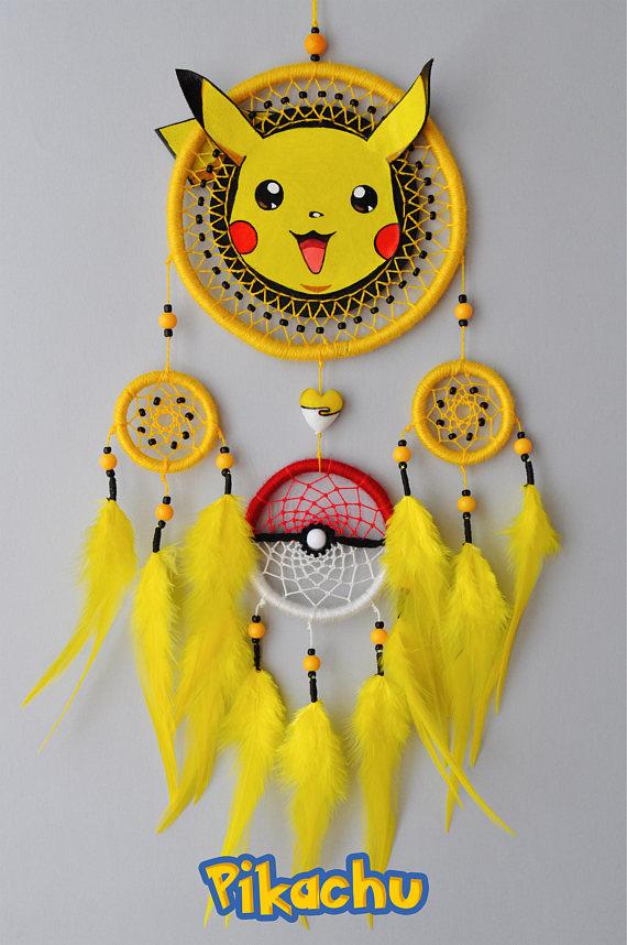 Eevee Eeveelution Decor Pokemon Fan Gift Dream Catcher