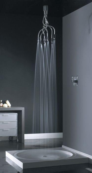 Si eres de los que les gusta lo original.... Aquí tienes un chorro de agua para la ducha de lo más IN - #TODesign #interiordesign - via Design Library AU - Interior Design & Renovation - http://ift.tt/1YuW2xq interiordesign