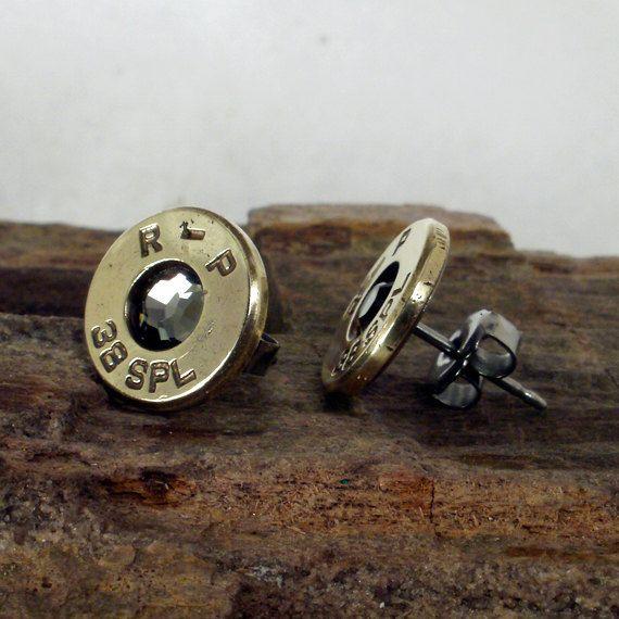 Bullet earrings...awesome!