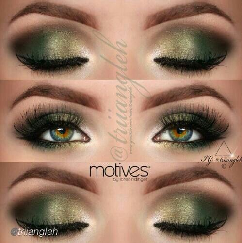 Makeup Ideas Hazel Eye