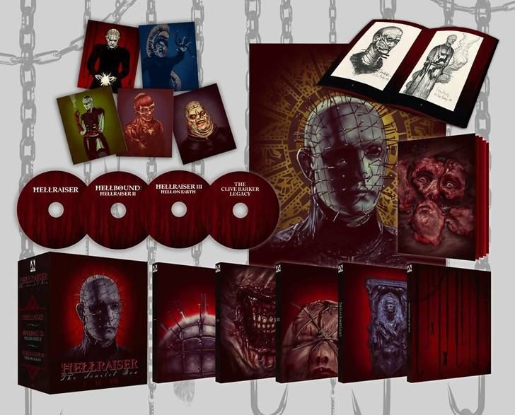 Bluray Tuesday features: Hellraiser Boxset