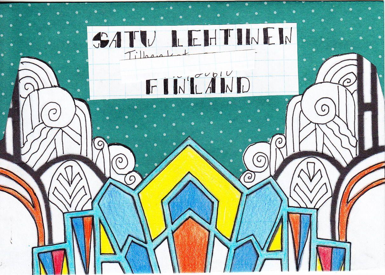 Art Deco theme - outgoing to Finland